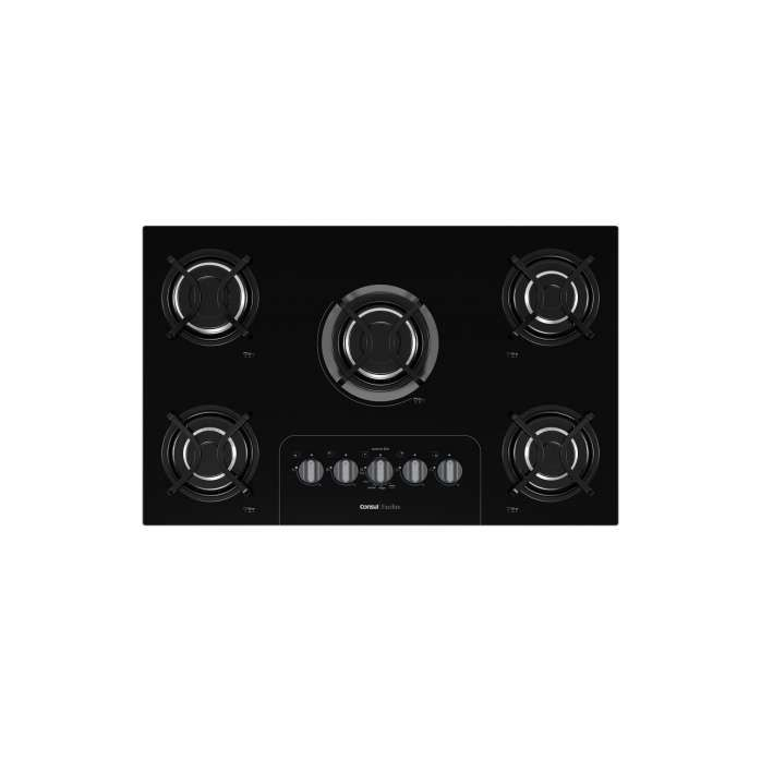 Cooktop preto CD075
